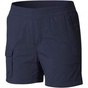 Columbia Silver Ridge Pull-On Pantaloncini Ragazza, blu